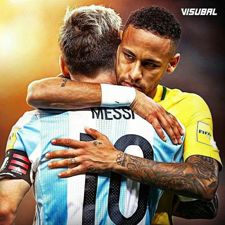 #Messi and #Neymar 🙌 #Visubal