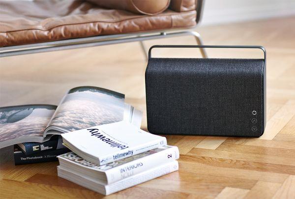Vifa Copenhagen Wireless Speaker In 6 Kvadrat Fabric Choices