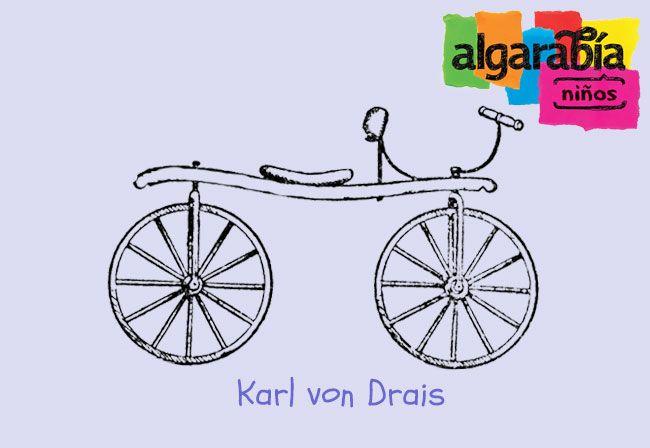 La bici a través del tiempo  http://algarabianinos.com/explora/la-bici-a-traves-del-tiempo/