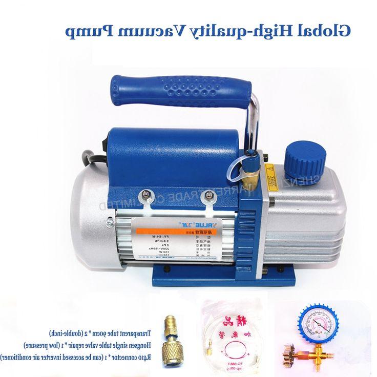 65.85$  Buy now - https://alitems.com/g/1e8d114494b01f4c715516525dc3e8/?i=5&ulp=https%3A%2F%2Fwww.aliexpress.com%2Fitem%2FFree-Shipping-by-DHL-2PC-1L-mini-Portable-vacuum-pump-FY-1H-N-refrigeration-maintenance-vacuum%2F32736821921.html - 2PC 1L mini Portable vacuum pump FY-1H-N refrigeration maintenance vacuum pump 220V/50Hz ultimate vacuum