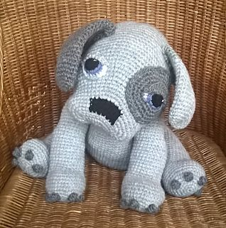 Puppy Dog pattern by Ineke Kieft