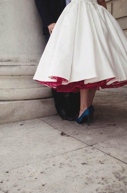 Red, White & Blue Wedding Ideas - Gorgeous details for a red, white, and blue wedding! #SummerWedding #FourthofJulyWedding