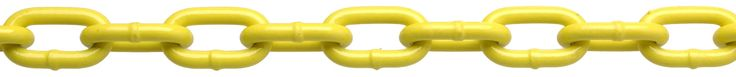 """Campbell PD0725027 System 3 Grade 30 Low Carbon Steel Proof Coil Chain on Reel, Yellow Polycoated, 3/16"""" Trade, 0.21"""" Diameter, 100' Length, 800 lbs Load Capacity"""
