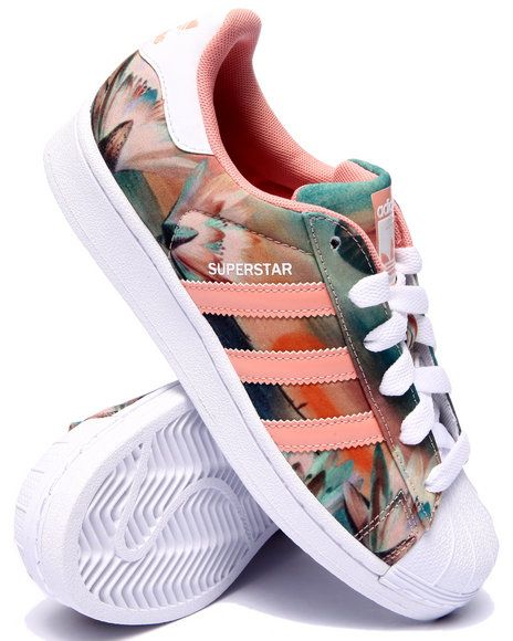 Adidas Women's Superstar Bold W (Black, White & Gold) End