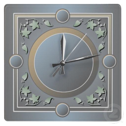 Leaf Frame Wall Clock