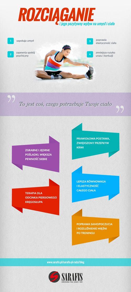 Dlaczego rozciąganie jest ważne?  #infografika