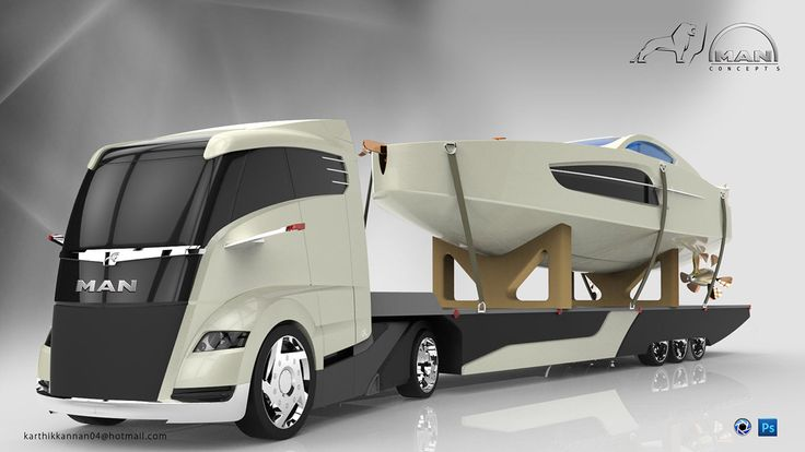 Pictures Of Future Trucks: MAN Concept S - Future Truck