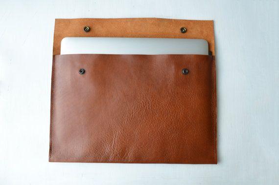 MacBook 11&13' Leather cover/ MacBook sleeve/ Macbook by NZbags