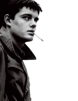 Control    Anton Corbijn on Ian Curtis. Love the composition of this! Allane