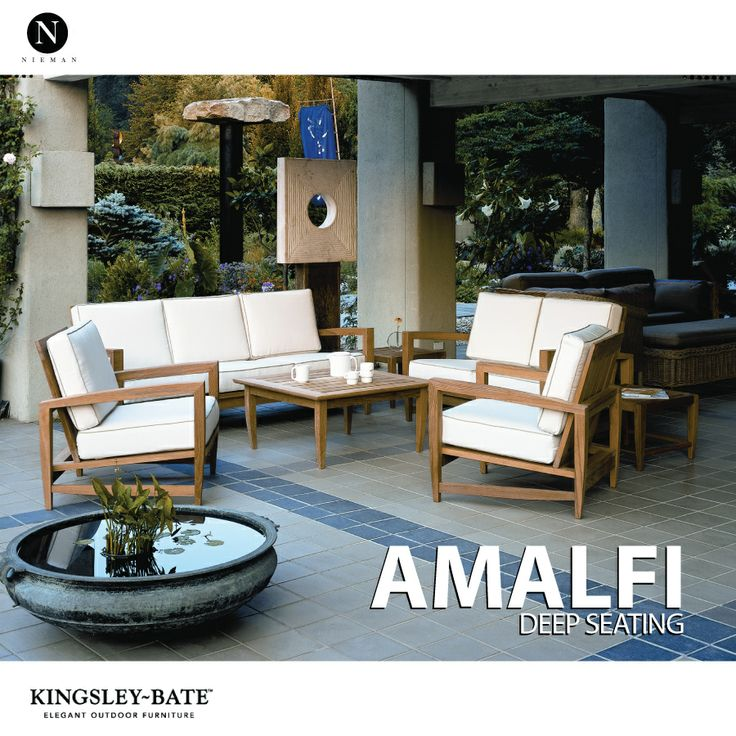 Amalfi By Kingsley Bate #teak #patio #interiordesign. Shelter  IslandContemporary Outdoor FurnitureOutdoor ... Part 67