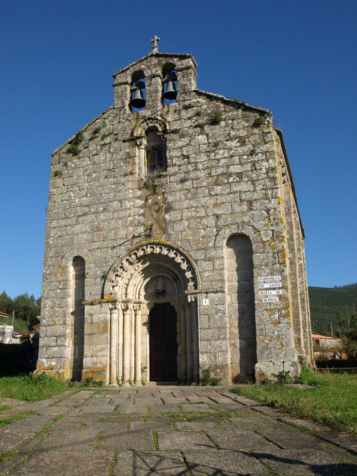 Iglesia de Santa María de Herbón | Monumentos | Web Oficial de Turismo de Santiago de Compostela y sus Alrededores