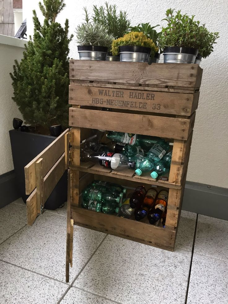 """made by  [einzelteil berlin]     willkommen zum vierten [einzelteil] !   Der Frühling ist da!  Flaschenlager """"Urban Farming""""         W… – Lynn Brinkmann"""