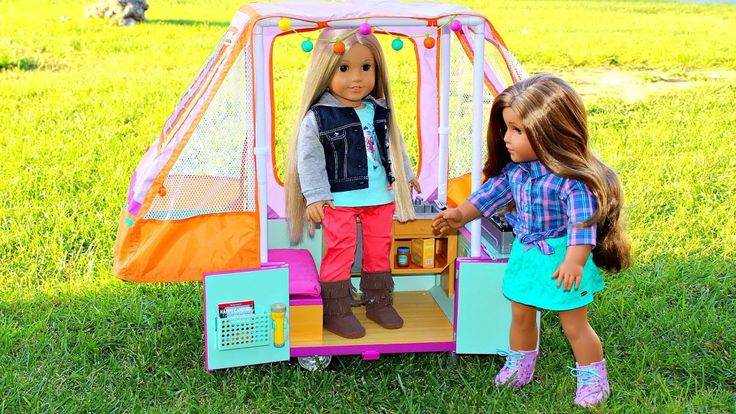 Doll Camper | American Girl Doll Review