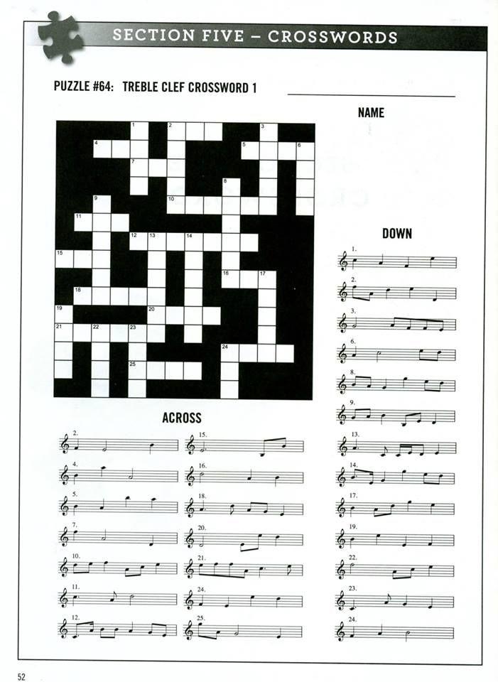 Music Crossword