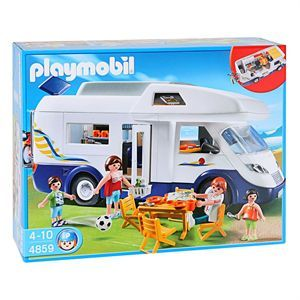 PLAYMOBIL 4859 Grand Camping-Car Familial - Achat / Vente VOITURE - CAMION PLAYMOBIL 4859 Grd Camping-Car - Cdiscount Cadeaux de Noël