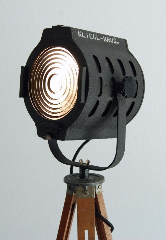 50 S Vintage Theater Stage Light Spotlight Industrial