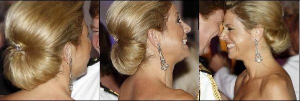 Queen Maxima's elegant bun in New York (2009)