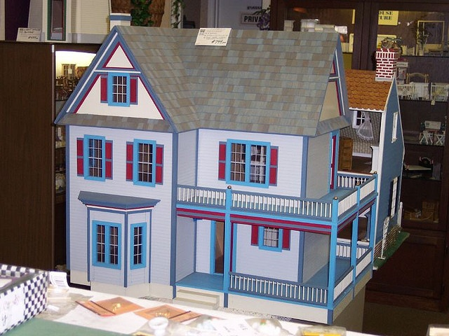 Victorias Farmhouse Its A Dollhouse