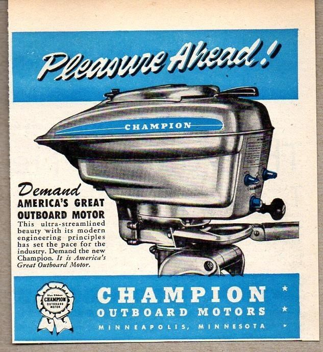 17 Best Images About Vintage Outboards Boats Fishing On