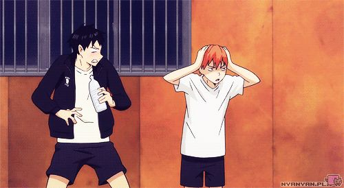 Haikyuu!! ~~ Mock your master and THIS is what happens! :: Kageyama and Hinata