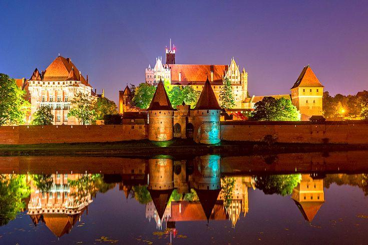 Ordensborgen Malbork i Polen #ordensborgen #malbork #slott #castle #polen #poland