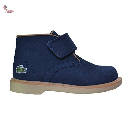 Lacoste footwear Lacoste Infants Sherbrooke Suede Navy Blue Mid Top Boots 7 UK/24 Euro (Infants) - Chaussures lacoste (*Partner-Link)