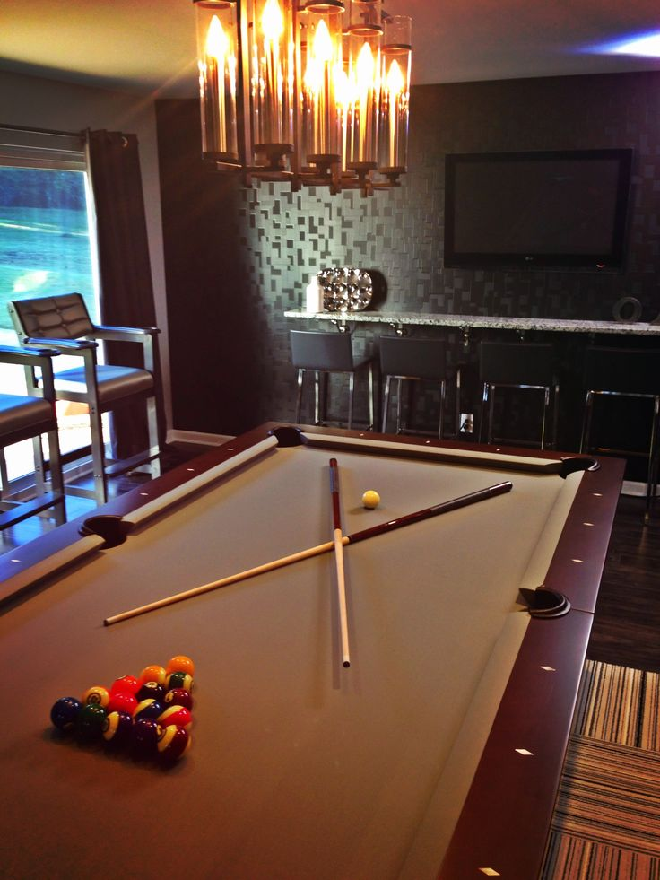 Loving The Brunswick Billiards Table For The Latest #PropertyBrothers Game  Room Reveal!! #