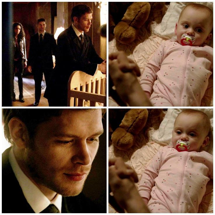 Klaus and hope ♥