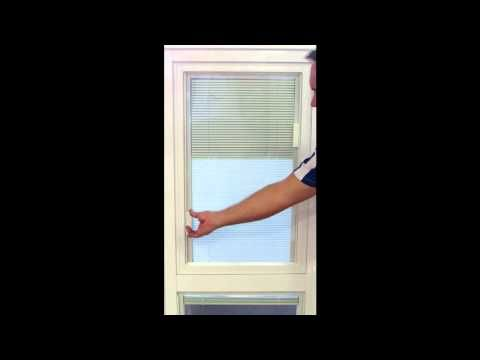 Ever wanted venetian blinds inside the glass....no more cleaning, complete privacy, no cords....well you can, watch this short video for a demonstration of how they work.