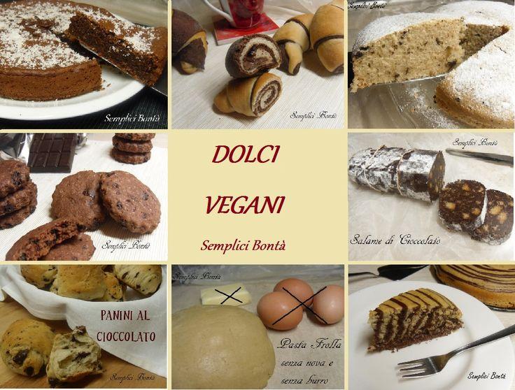 Questa raccolta ricette di dolci vegani è dedicata a ha intolleranze alimentari o ha escluso dall' alimentazione latte , uova , burro