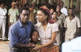 Hotel Rwanda (2004) Don Cheadle and Sophie Okonedo are caught up in the politics of the Hutu genocide of the Tutsi.