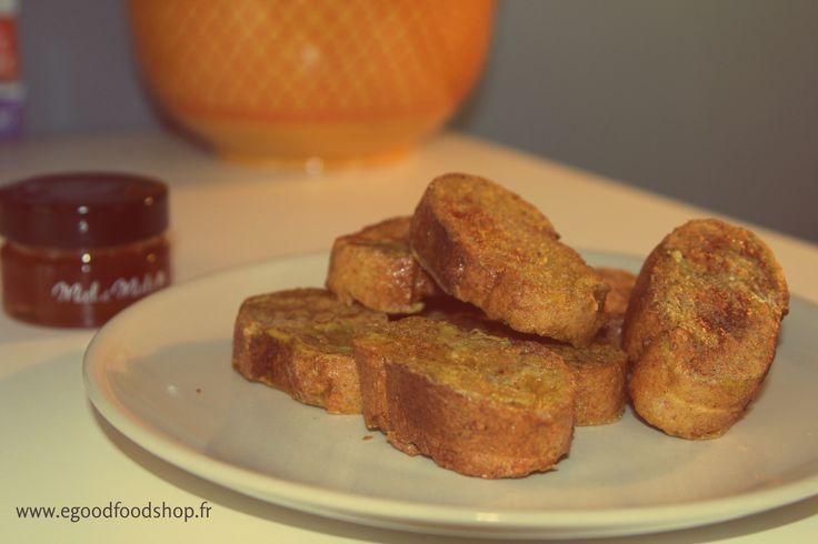 Une recette de pain perdu avec un petit twist made in Morocco :)