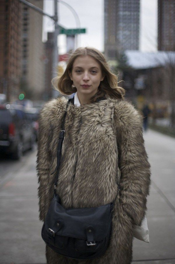 Some of you are against fur but this jacket is killer!