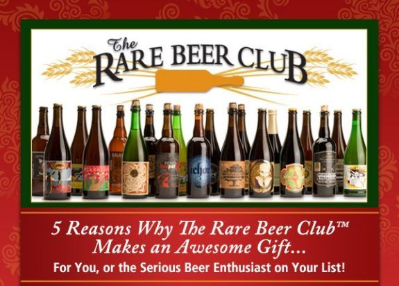 5 Reasons The Microbrewed Beer of the Month Club and Rare Beer Club make solid gifts - #craftbeer