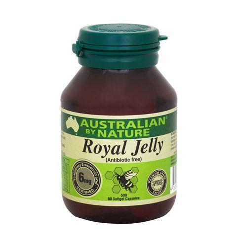 Royal Jelly 500mg – Australian by Nature – 60 Capsules   Shop Australia