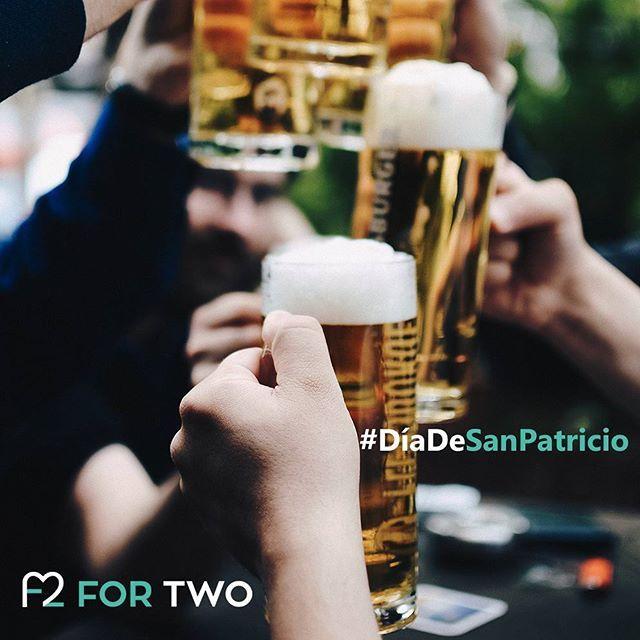 Día de San Patricio. ¿Acaso se necesita alguna otra razón para salir a celebrarlo? #SanPatricio #Cerveza