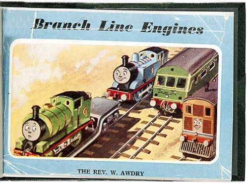 AWDRY, Rev. W. Branch Line Engines.  Edmund Ward, 1961. #thomasthetankengine #childrensbook