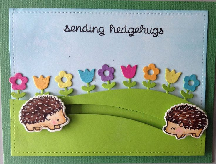 Sending Hedgehugs to our teacher! | by scrapscrapthat