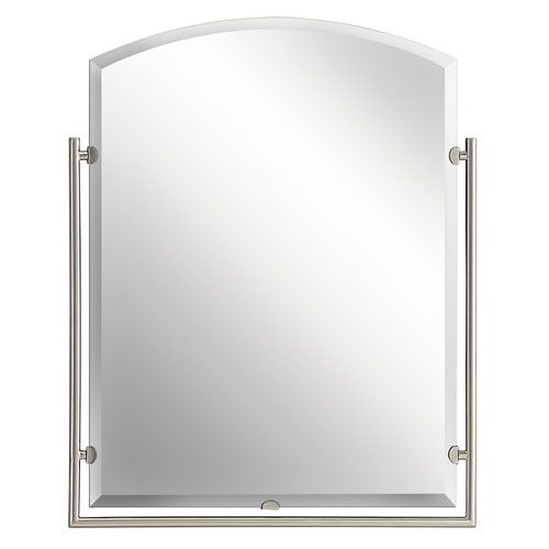 25 best ideas about brushed nickel mirror on pinterest - Bathroom vanity mirrors brushed nickel ...