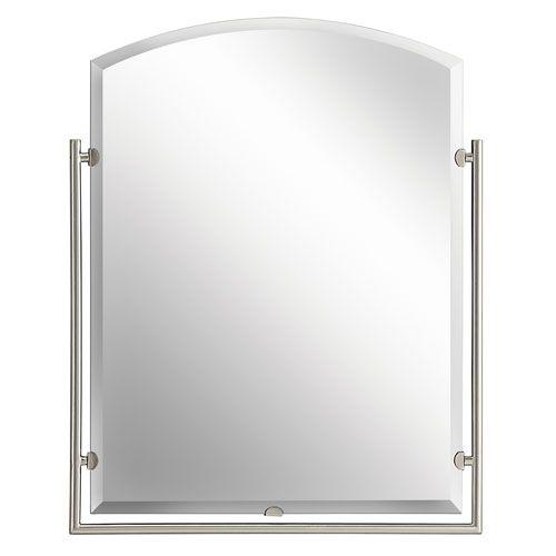 Structures Brushed Nickel Mirror Bellacor Number: 525007