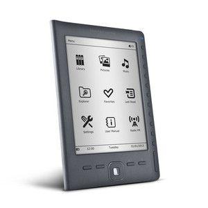 ebook energy sistem e reader e6 rubber grey