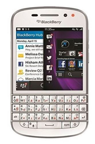 #ebay Blackberry Q10 SQN100-3 - English/Arabic Keypad - Black/White (With Case) - $129.99 (save 35%) #blackberry #q10 #sqn1003