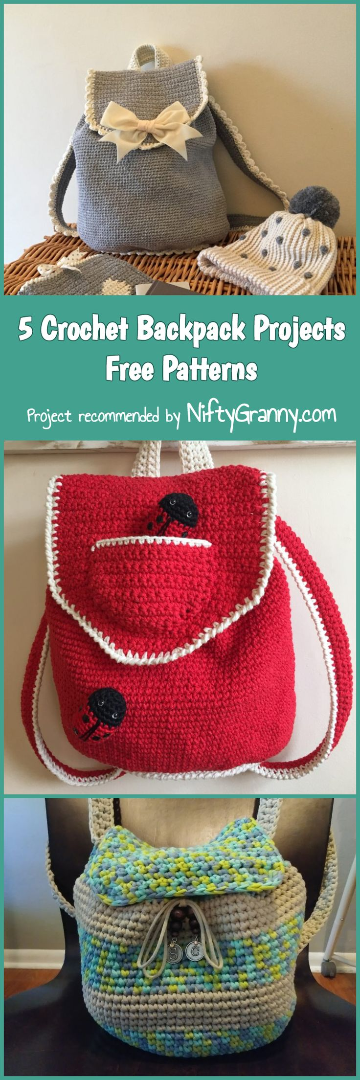 18242 Best Crochet Images On Pinterest Knit Filet Tm Diagram Ideas And Tips Juxtapost 5 Backpack Projects Free Patterns