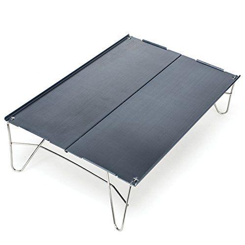Ubens Outdoor Camping Ultralight Foldable Aluminum Table - Cicada Wings Portable 398g