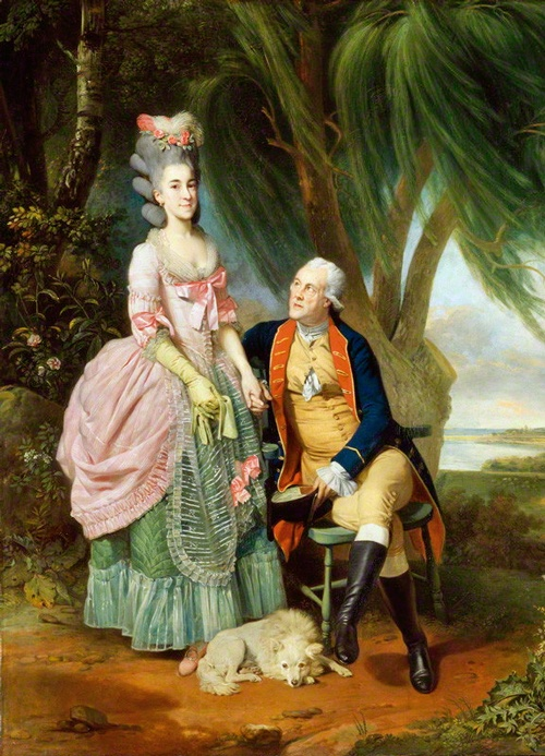 Mary Wilkes; John Wilkes by Johan Joseph Zoffany, 1782. John Wilkes (1725-1797), Politician and agitator.    Mary Wilkes (1750-1802), Daughter of John Wilkes. John Wilkes, the radical politician, was arrested in 1763 under a general warrant against his anti-government newspaper The North Briton, for an attack on the king's speech on peace with France. MP for Middlesex 1774 and Lord Mayor. Mary Wilkes (or Polly, as she was known), was Wilkes's only child by his estranged wife, Mary Meade.