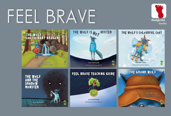 Feel Brave series - reviewed by The Bookseller NZ