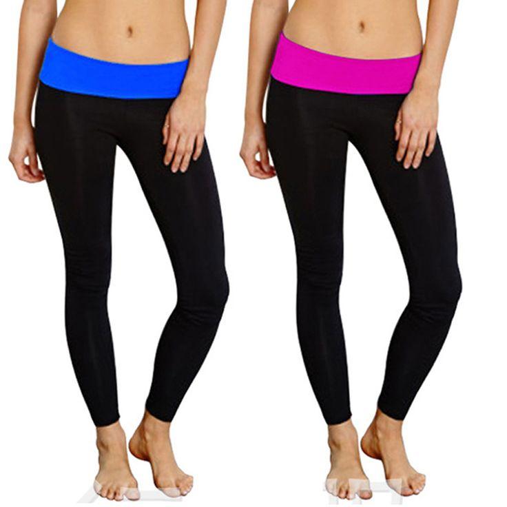 Lady Skinny High Waist Leggings Comft Trousers Multi-colors Slim Stretch Pants S72 #Affiliate