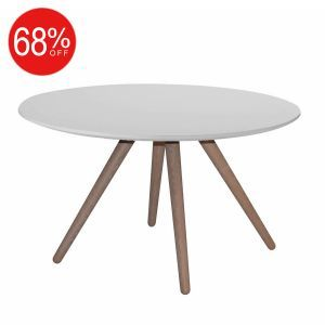 Best Stavanger Small Round Coffee Table In White Casafina 640 x 480