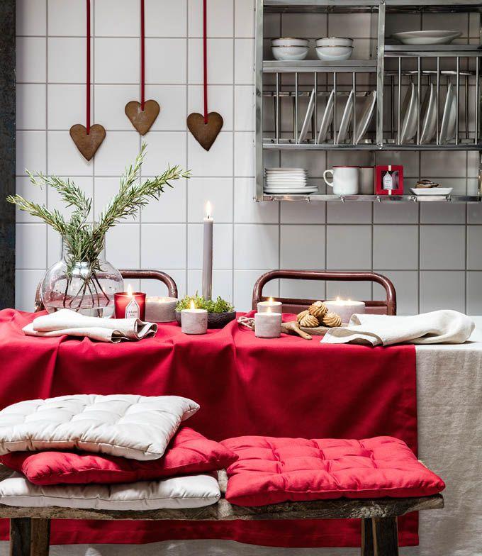 H&M Home karácsonyi otthon 2015 #tablescape #kitchen #wintertime