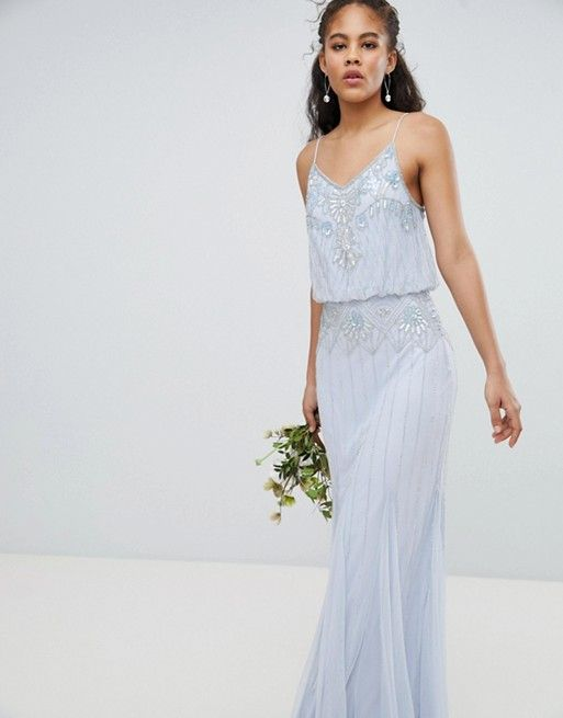 7cb5584cc990 Amelia Rose Tall 2 In 1 Embellished Maxi Dress | all things wedding ...